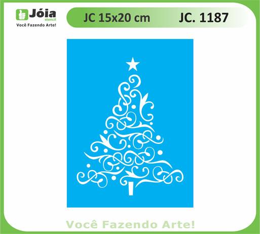 stencil JC 1187