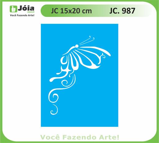 stencil JC 987