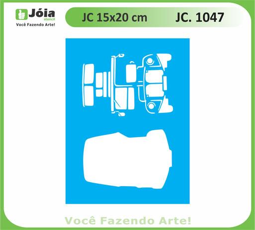 stencil JC 1047