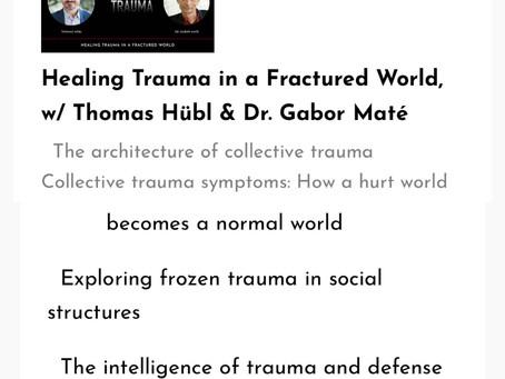 Collective trauma, but I'm ok?