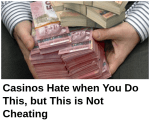clickbait example of a headline about casino tricks