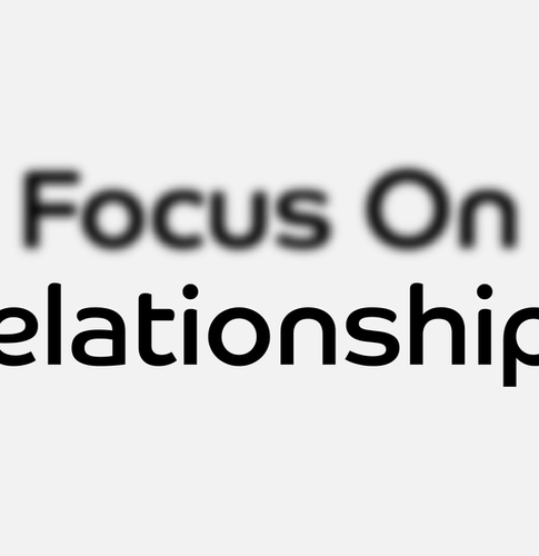 To Build a Great Brand, Focus On Relationships