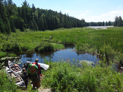 The End of a Portage