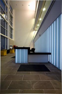 Glass Reception Area at Asda George Office Lumaglass2