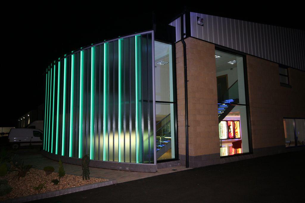 Topglass Factory Office Illuminated Glass6
