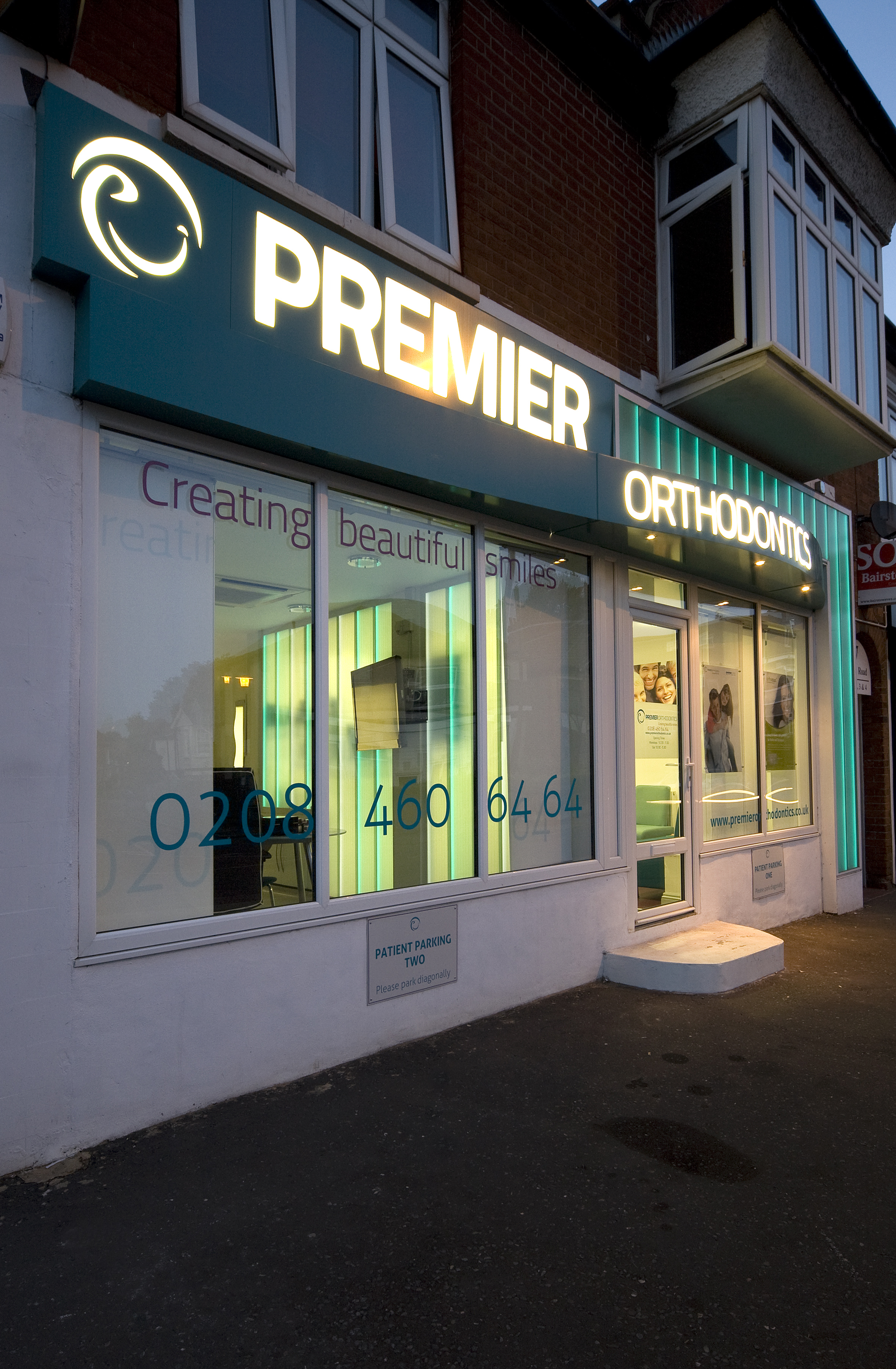 Orathodontics Glass Shop Front