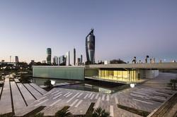 Al Shaheed Park Kuwait Illuminated White Glass5