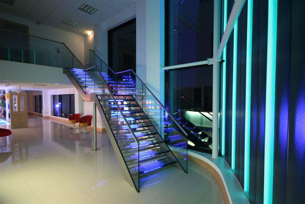 Topglass Factory Office Illuminated Glass3