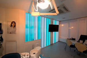 Glass Partition at Premier Orthodontics Bromley
