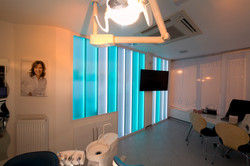 Premier Orthodontics Glass Wall