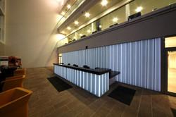 Glass Reception Area at Asda George Office Lumaglass