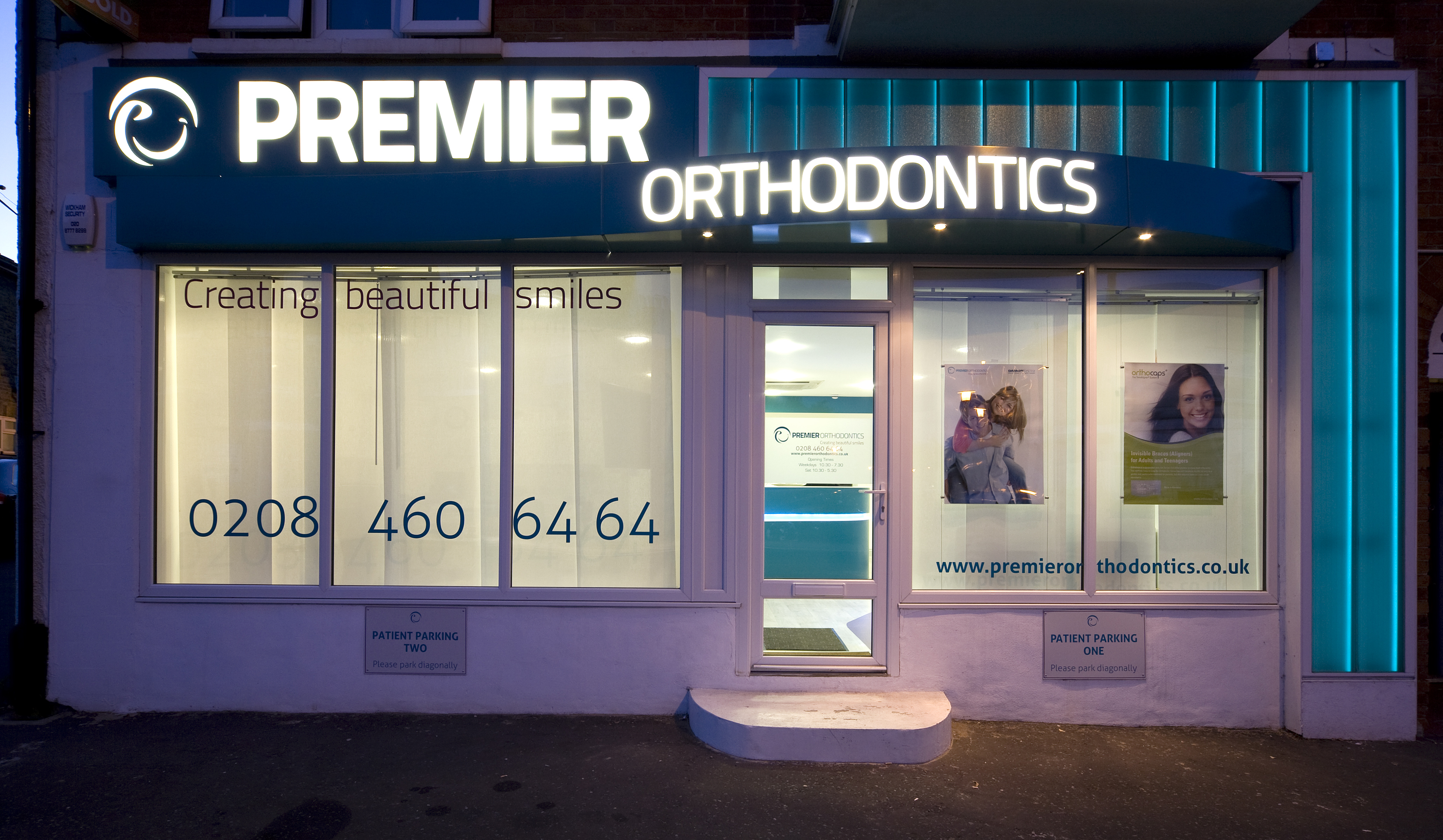Orthodontics Glass Shop Front2