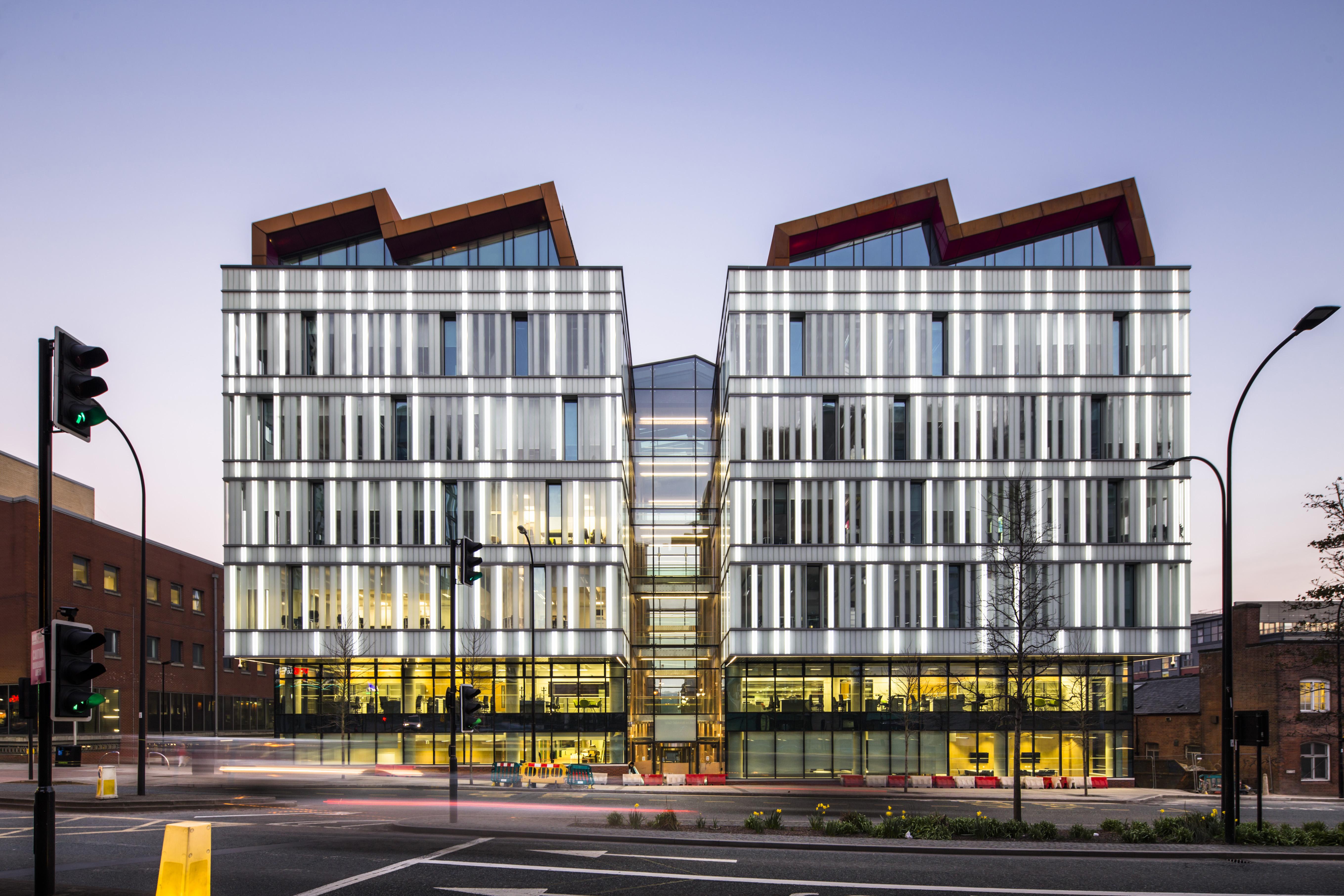 Sheffield Hallam University Lumaglass