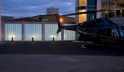 Battersea Heliport External Glass Wall