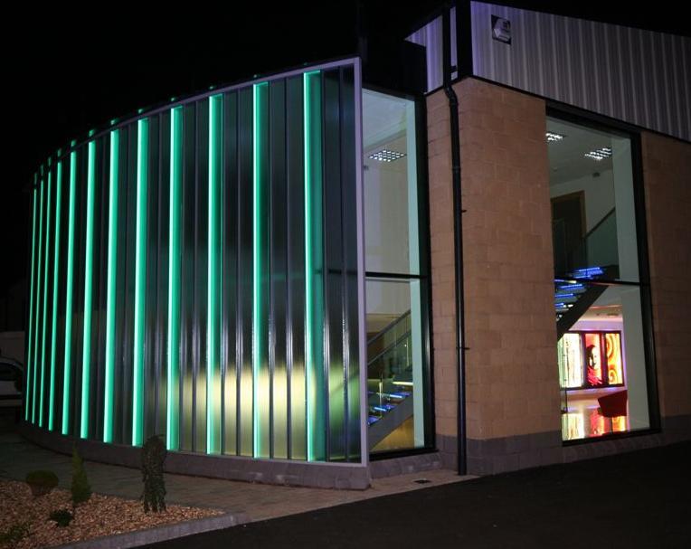 Topglass Factory Office Illuminated Glass9