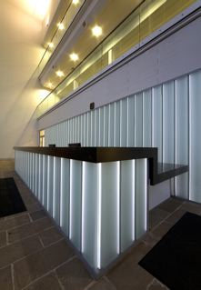 Glass Reception Area at Asda George Office4