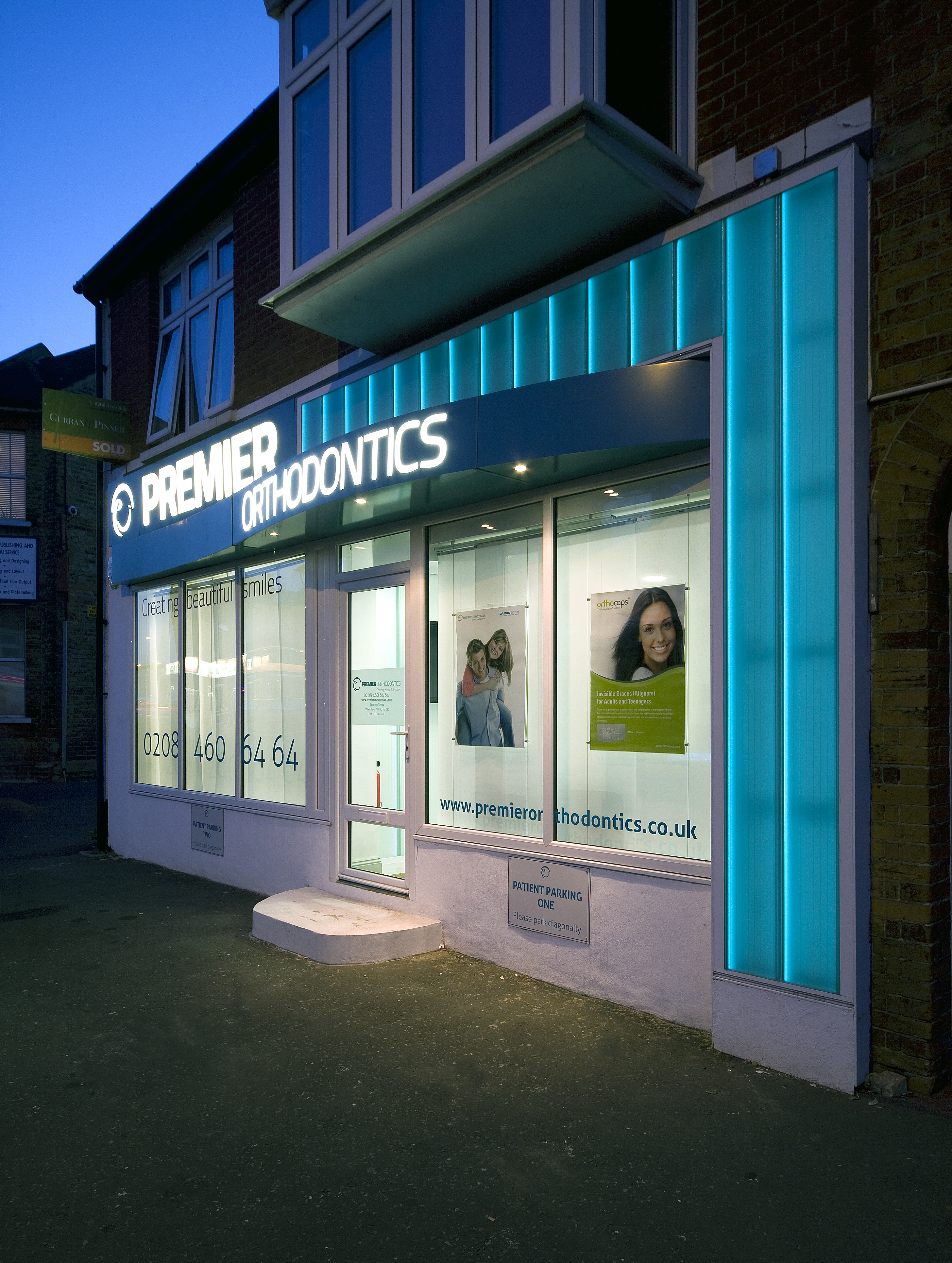 Orthodontics Glass Shop Front 3