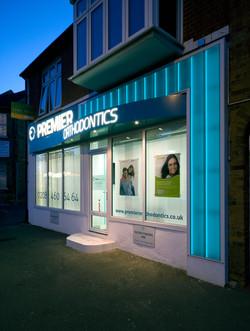 Orthodontics Glass Shop Front 3