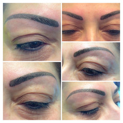 Permanent make-up Brauen