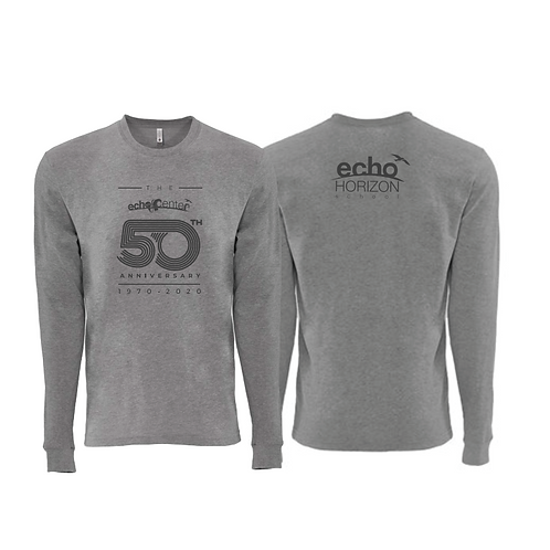 Echo Center Sueded Long Sleeve T-Shirt