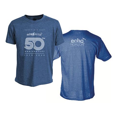 Adult Echo Center 50th Anniversary T-shirt