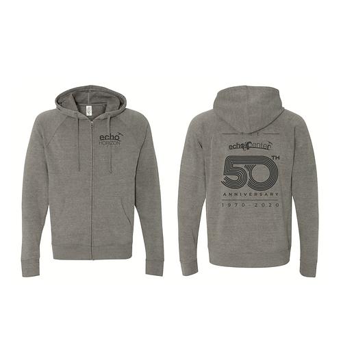 Kids Echo Center Zip up hoodie