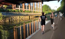 Tow Path: Evening Run