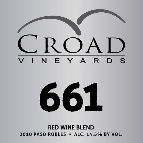 """661"" Red Wine Blend"