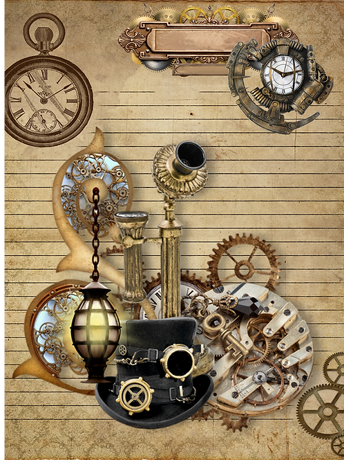 Steampunk (Rectangular Format)