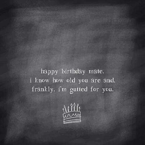 BIRTHDAY FUNNY