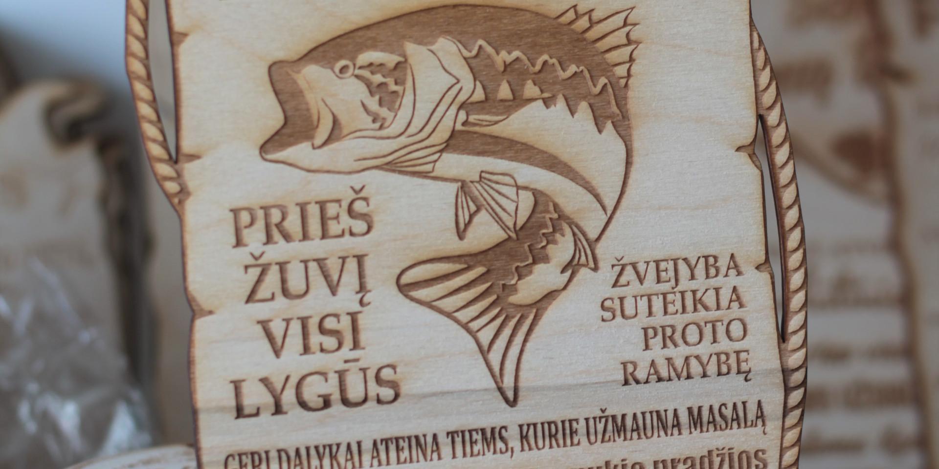 dovana žvejui