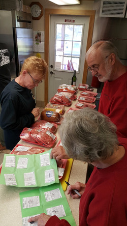 Meat Raffle at the VFW in Fort