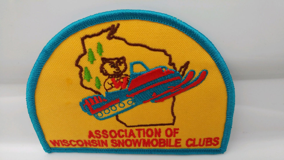 Official Association of Wisconsin Snowmobile Clubs Patch