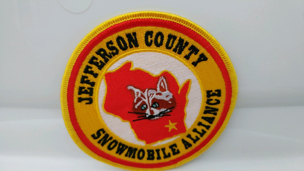 Official Jefferson County Snowmobile Alliance Patch