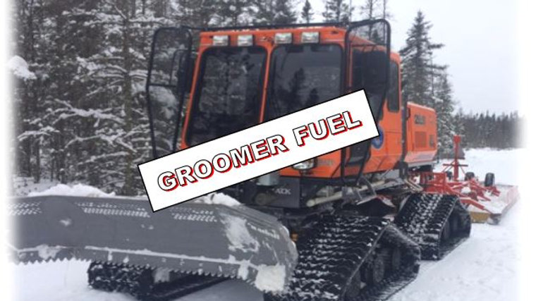 Buy a couple gallons of fuel for our Groomers!