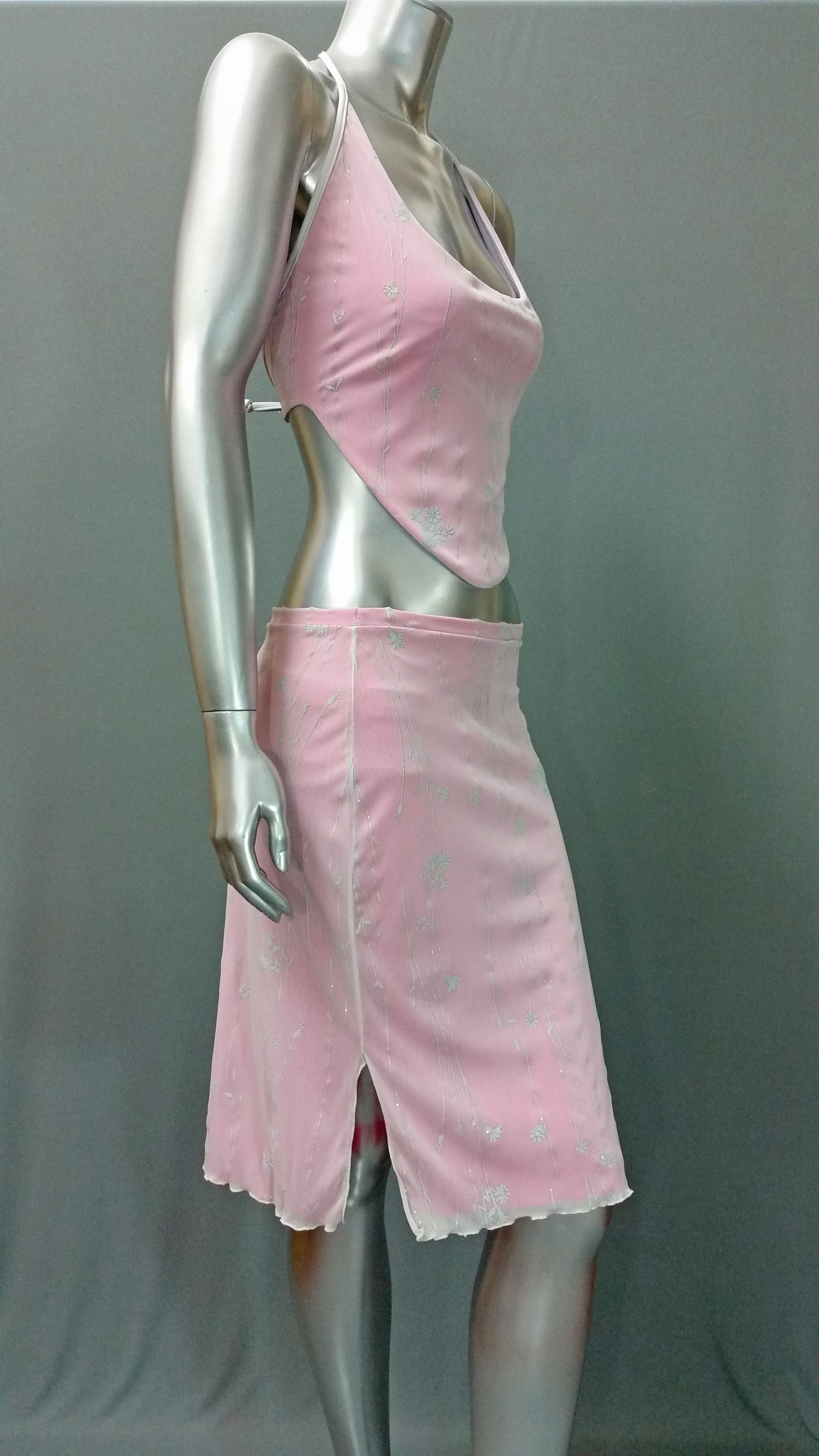Party Pink Skirt and Top