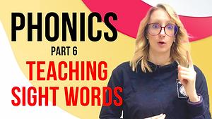 How to Teach Sight Words