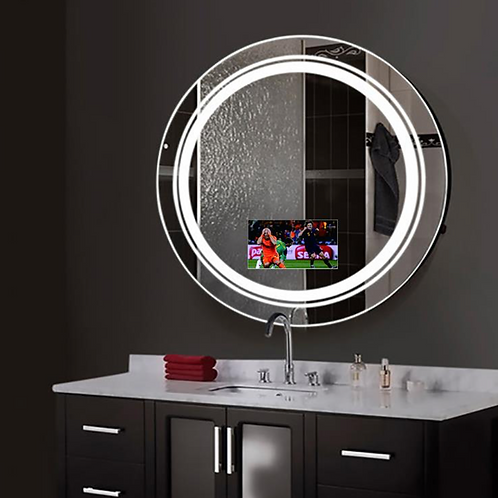 Round Shaped Smart Lighted Mirror