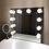 Thumbnail: Metal Vanity Lighted Hollywood Mirror