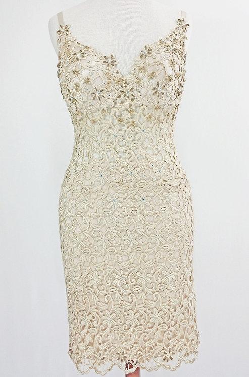 Guipure Lace Dress | Lavish Miami Designs - 4059