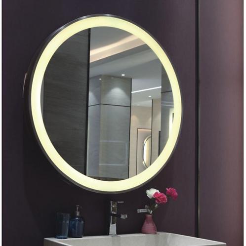 Bathroom Framed Lighted Mirror
