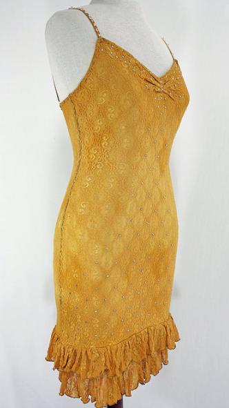 Short Yellow Dress