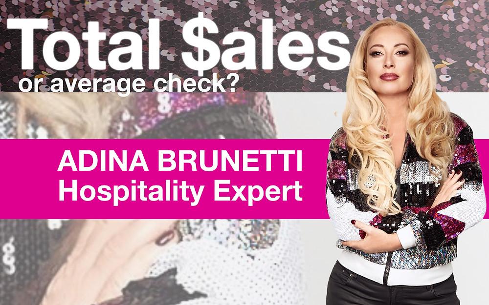 Adina Brunetti. Restaurant consulting