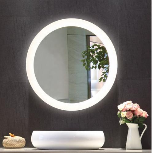 Round Light Up Vanity Mirror