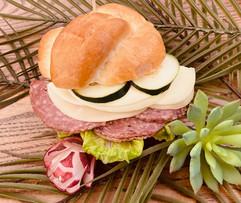 Junior's Bistro Salami Sandwich