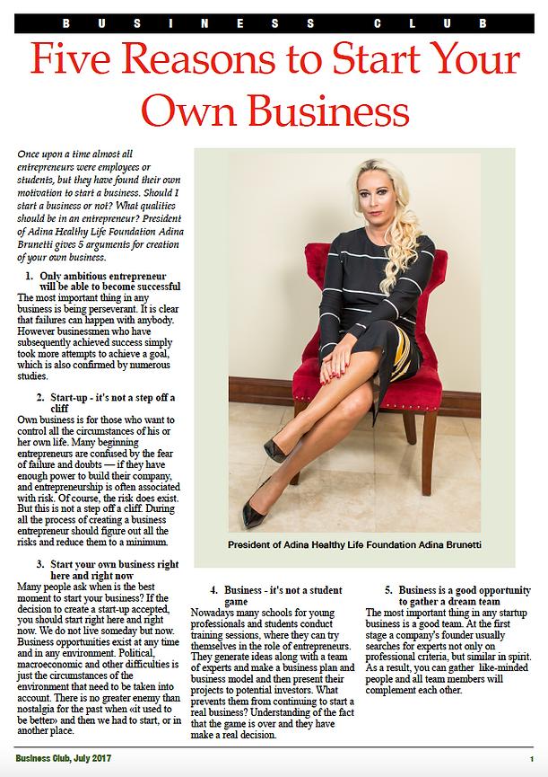 Adina Brunetti Interview