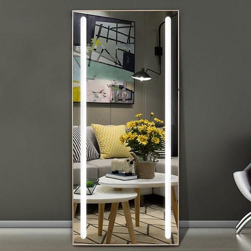 Decorative Frameless Lighted Full Length Mirror