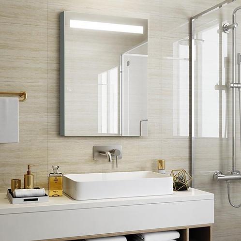 Aluminum Lighted Mirror Cabinet