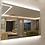 Thumbnail: Decorative Demister Frameless Lighted Mirror
