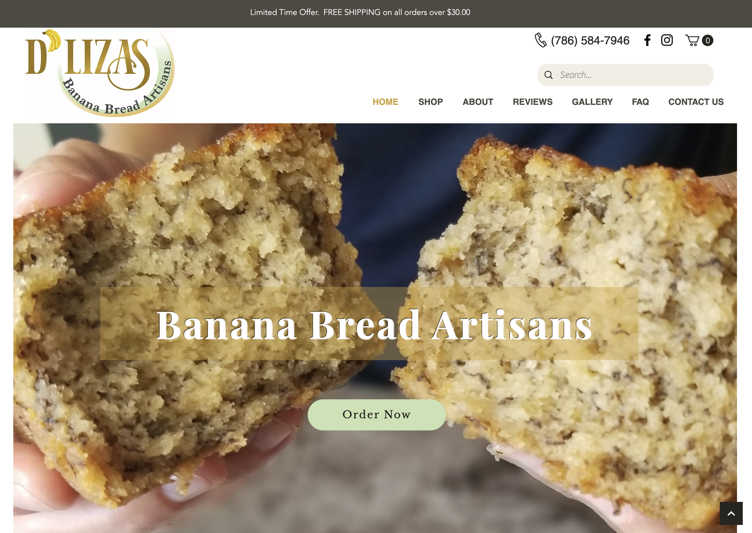 Banana Bread Bakery in Miami